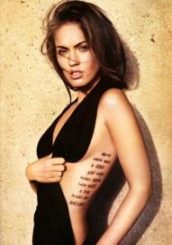 best celebrity tattoo