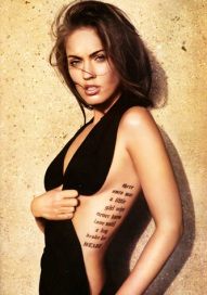 best celebrity tattoo