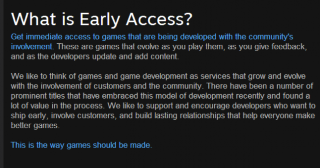 what is early access